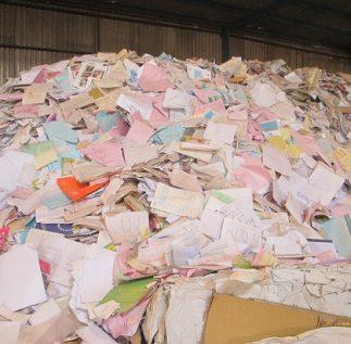 Thu mua giấy vụn đã qua sử dụng, báo cũ, bìa carton giá cao 0383777485